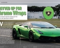 Designer Wraps Green Chrome Lamborghini Gallardo