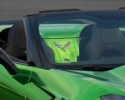 Designer Wraps Chrome Green Corvette Stingray Inside