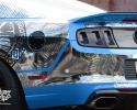 Designer Wraps Custom Chrome Ford Shelby GT1000
