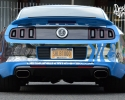 Designer Wraps Custom Chrome Ford Shelby GT1000