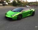 Designer Wraps Chrome Green Lamborghini Gallardo