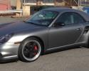 Designer Wraps KPMF Grey Anthracite Metallic Porsche 911 Turbo S