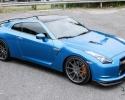 Designer Wraps 3M Gloss Blue Metallic Nissan GTR R35 Skyline