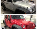 Designer Wraps - color change paint wrap jeep wrap