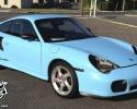 Designer Wraps Gloss Baby Blue Porsche 911