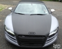 Designer Wraps 3M Brushed Steel Black Metallic Audi R8 V10 Spyder