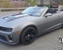 Designer Wraps Matte Dark Grey Camaro ZL1