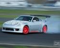 Designer Wraps Arlon Matte Aluminum Nissan 350Z Drift Car