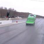 Designer Wraps - Mustang Wheelie