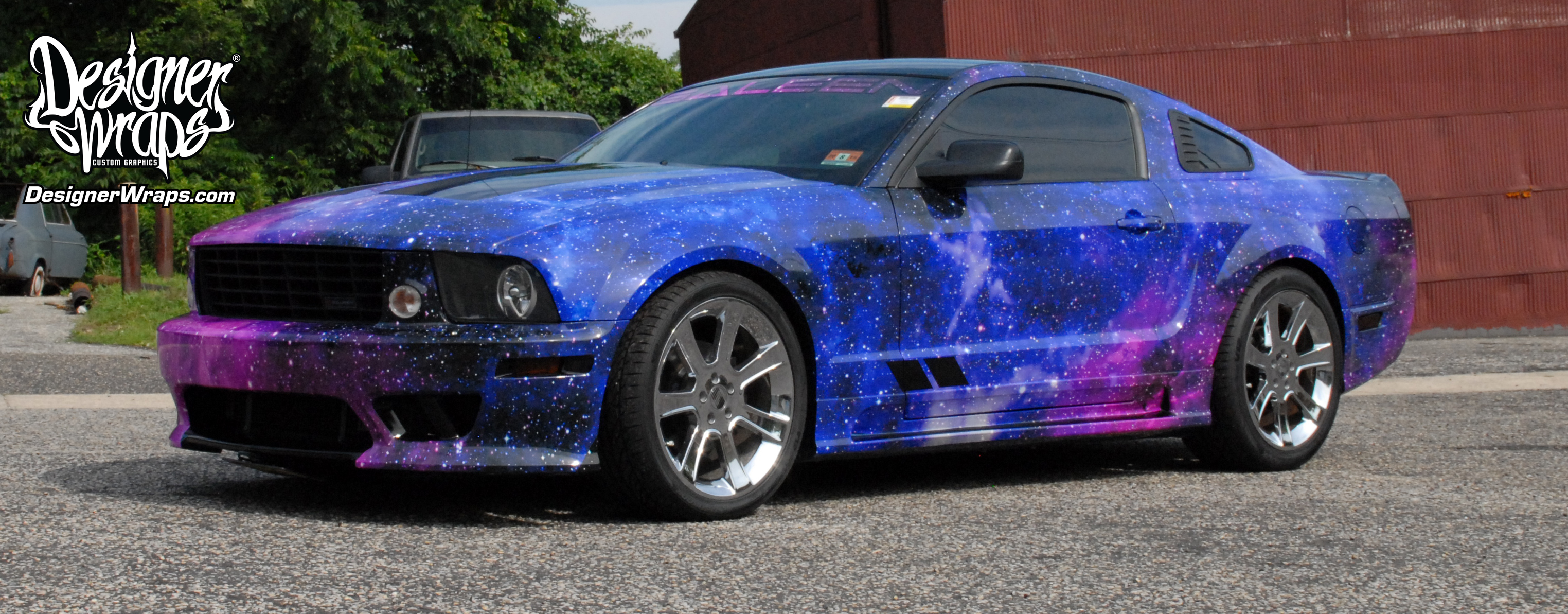 2016 Saleen Mustang >> Designer Wraps – Custom Vehicle Wraps, Fleet Wraps, Color Changes – Philadelphia Wraps, South ...